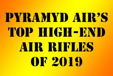 Top Selling High End Air Rifles