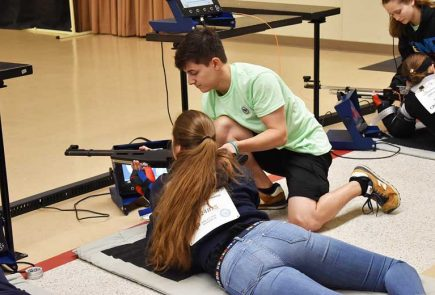 Sign Up for the 2020 CMP Summer Junior Air Rifle Camps