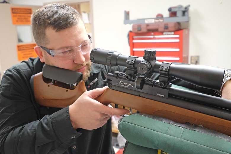 The Semi Auto Marauder Air Rifle