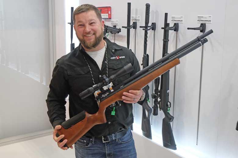 vBenjamin Marauder Semi Auto Air Rifle