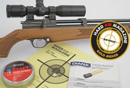 Diana Stormrider Gen 2 Air Rifle Review .22 Caliber
