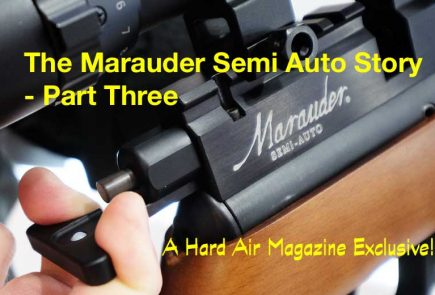 The Semi Auto Marauder Air Rifle