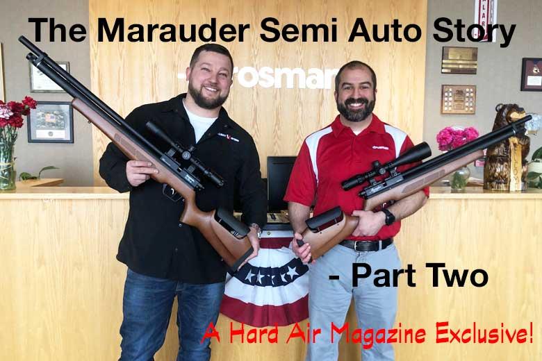 Benjamin Marauder Semi Auto Air Rifle