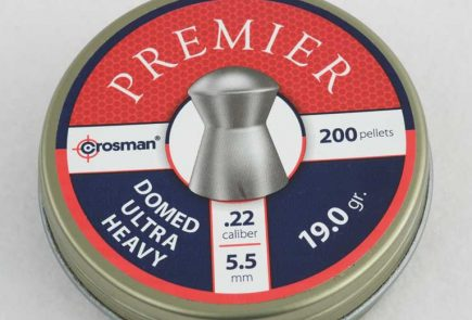 Crosman Premier Domed Ultra Heavy 19.0 Grain