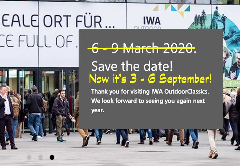 There's A New Date For IWA OutdoorClassics 2020
