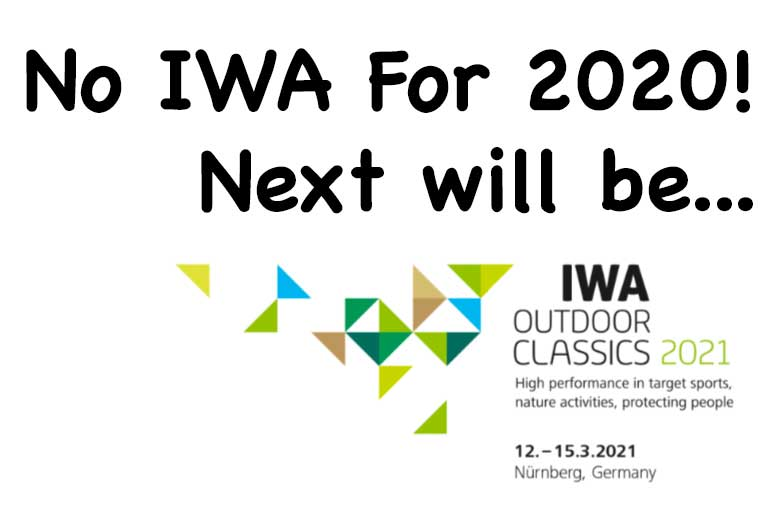 IWA OutdoorClassics 2020 Cancelled - Next Show Will Be 2021