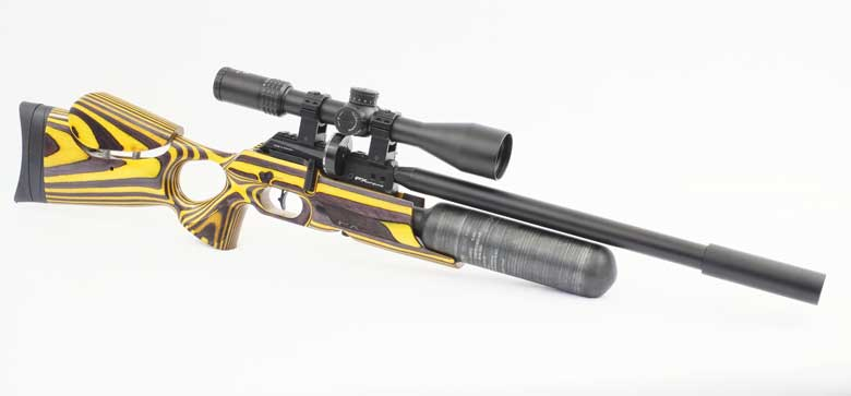 FX Crown Continuum Air Rifle Test Review .22 Caliber