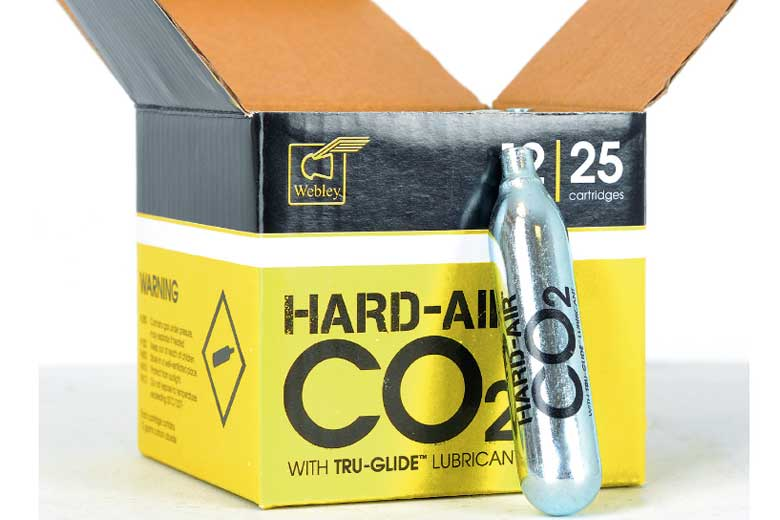 Hard-Air CO2 Now Available - It's No Relation To HAM!
