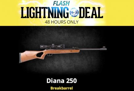 Flash Lightning Deal On Diana 250 Breakbarrel At Airgun Depot