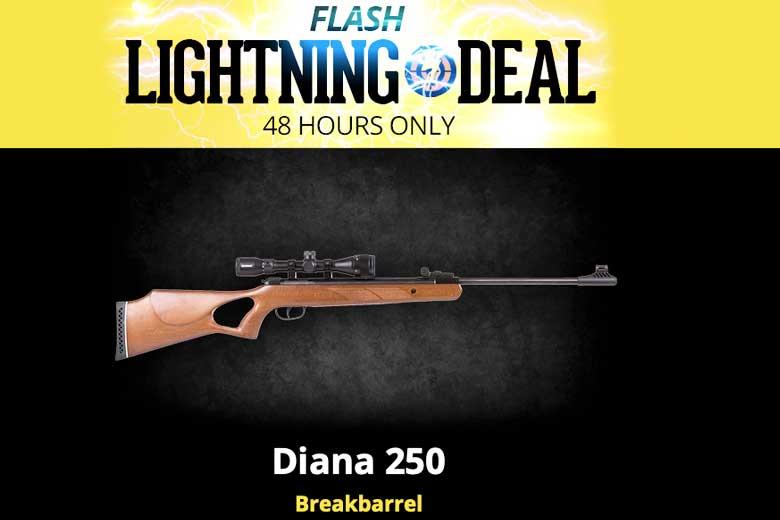 Flash Lightning Deal On Diana 250 Breakbarrel At Airgun Depot