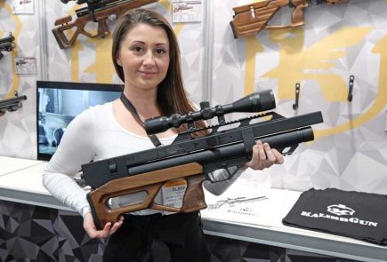 The New KalibrGun Argus 45W Bullpup PCP Air Rifle