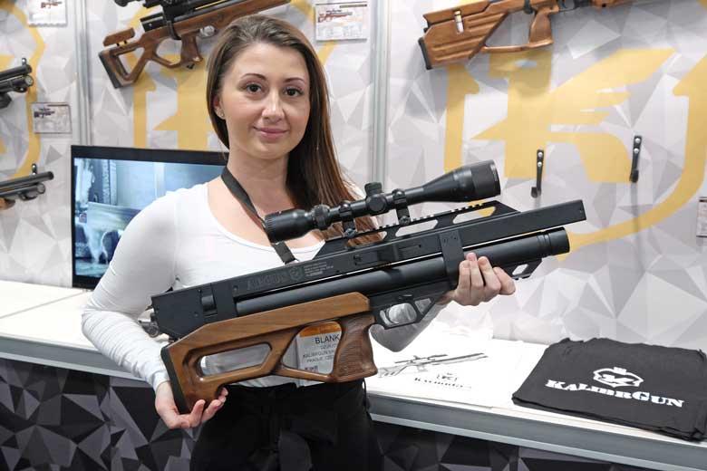 The New KalibrGun Argus 45W Bullpup PCP Air Rifle