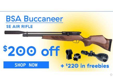 HUGE BSA Buccaneer Deal For 72 Hours Only!