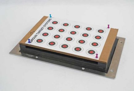 Testing New Ballistic Target Panels from Airgun Target Systems