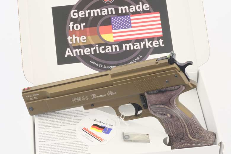 The HW45 Bronze Star - A Classic Air Pistol