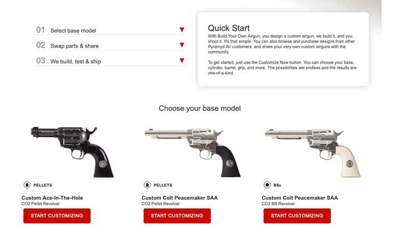 Build Your Own Custom Airgun With Pyramyd Air!