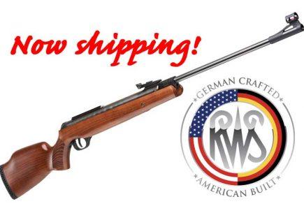 RWS 3400 Break Barrel Air Rifles Now Available