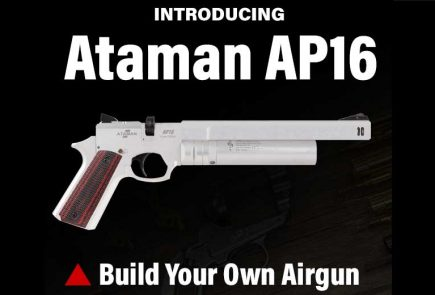 Build Your Own Custom Ataman AP16 PCP Air Pistol