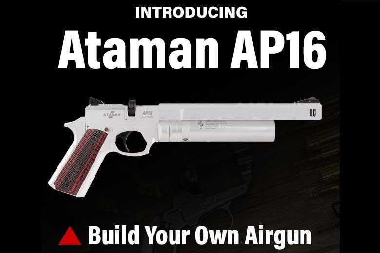 Build Your Own Custom Ataman AP16 PCP Air Pistol