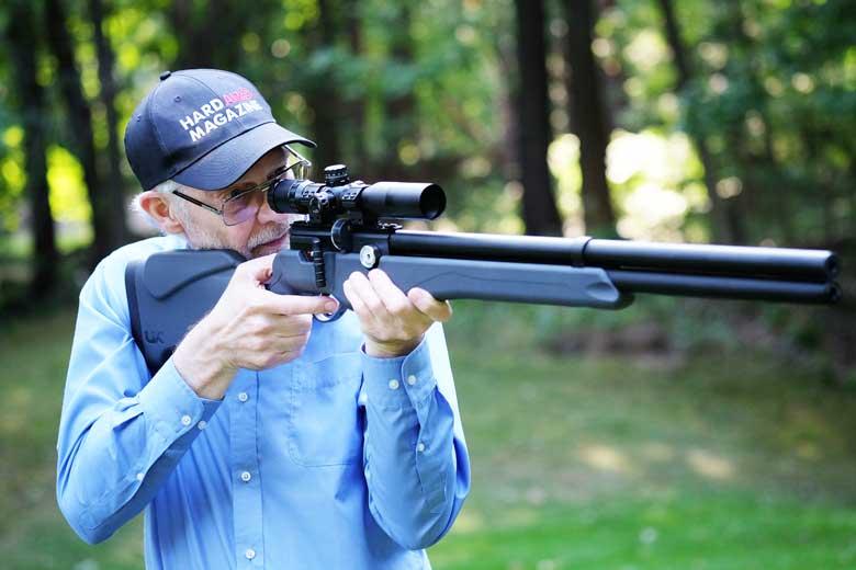 Shooting The Umarex Origin PCP Air Rifle