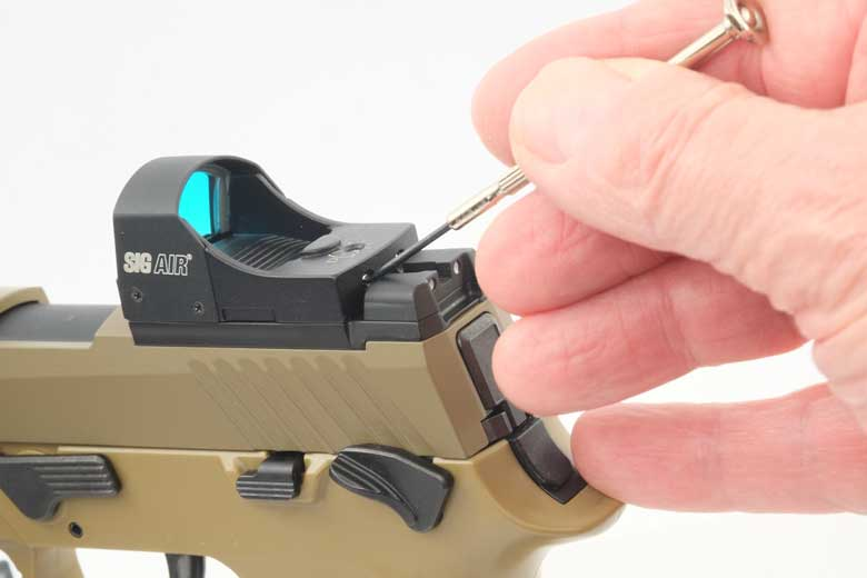 SIG AIR M17 Pellet Pistol Reflex Sight