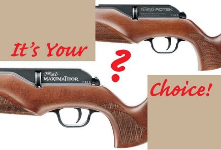 Choice Of Walther PCP Deals Now At AoA!