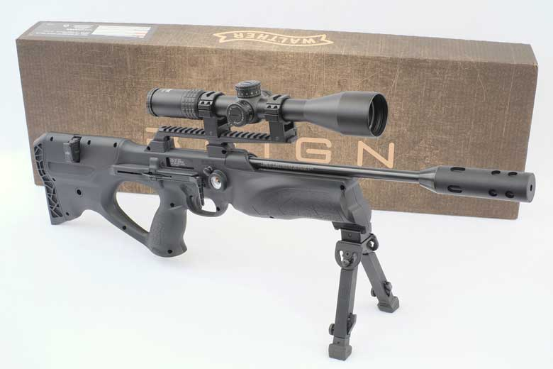 A Close Look At The Walther Reign PCP Air Rifle