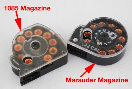Does The Benjamin Marauder Magazine Fit The Beeman 1085?
