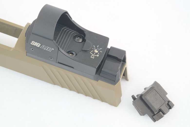 SIG AIR M17 Pellet Pistol Reflex Sight Review And Installation