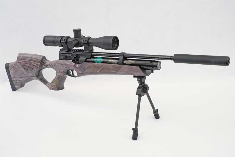 First Look At The New Weihrauch HW110 TK PCP Air Rifle