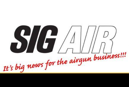 SIG AIR, EMG Collaboration Indicates Way Forward In Airguns