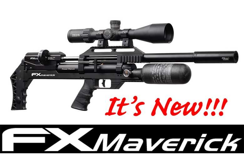 The FX Maverick - It's A New Rifle Platform from FX Airguns