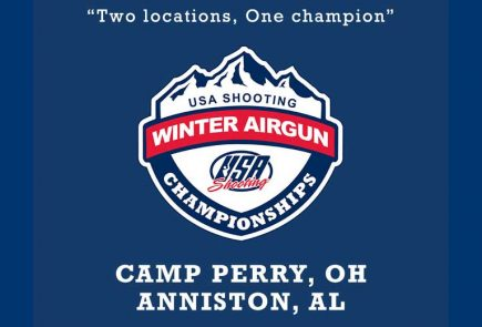 Register Now for USA Shooting/CMP 2020 Winter Airgun Championships
