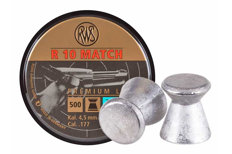 New RWS Pellets For Air Pistol Competition