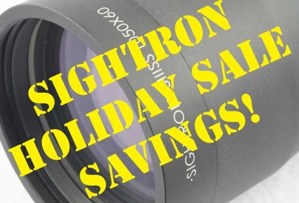 Sightron Deals Alert -Black Friday And Cyber Monday Sales