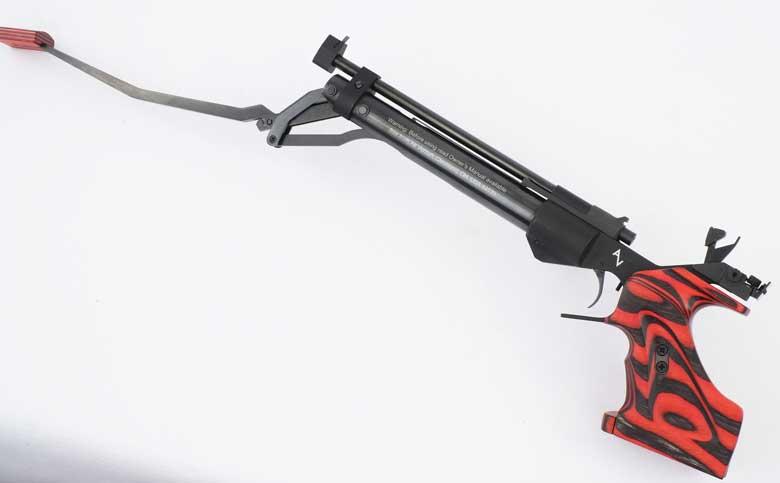 The Air Venturi AV-46M Match Air Pistol