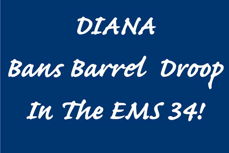 Diana 34 Barrel Droop Issues Ended With The New Model 34 EMS