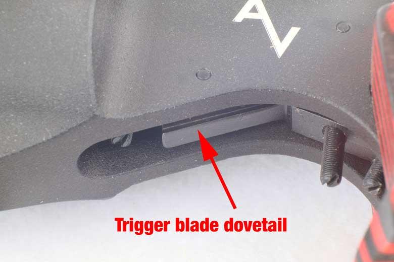 Fitting The AV-46M Trigger Upgrade