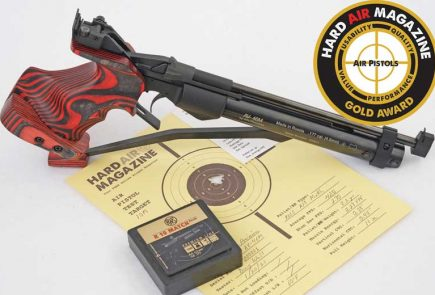 Air Venturi AV-46M Match Air Pistol Test Review