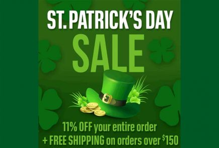 The Latest Pyramyd Air Sale - St Patrick's Day