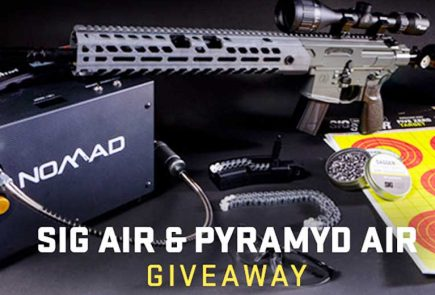 SIG Air, Pyramyd Air $1,400 Airgun Giveaway. You Can Enter Now!