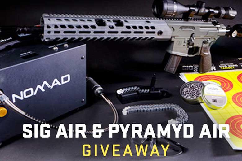 SIG Air, Pyramyd Air $1,400 Airgun Giveaway. You Can Enter Now!