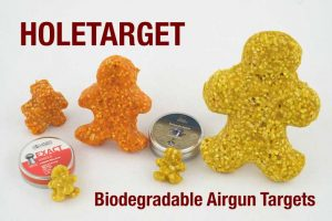 New Biodegradable Airgun Targets From HoleTargets