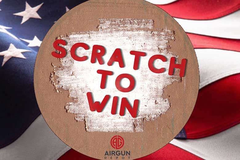Scratch To Win Airgun Depot Giveaway Promotion