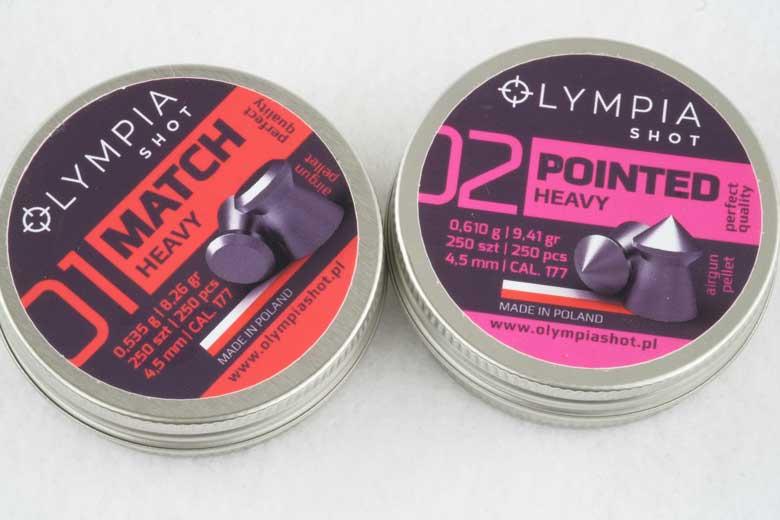 Olympia Shot Pellets