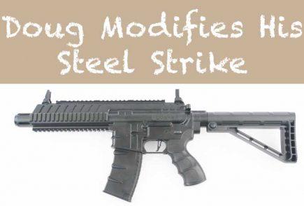 Doug Wall Makes Some Steel Strike Upgrades
