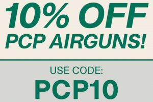 10% Off PCPs At Pyramyd Air