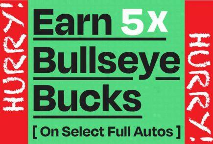 Earn 5X Bullseye Bucks On Full Autos At Pyramyd Air