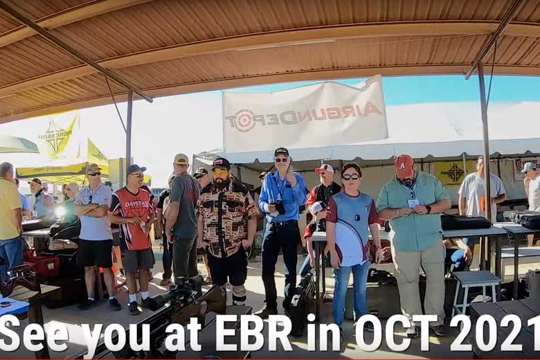 EBR 2021 Is Full! Will The Benchrest Competition Be Cleared This Year?