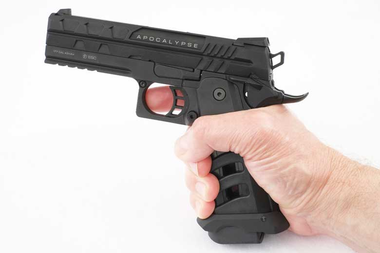 Let's Take A First Look At The NxWerks Apocalypse BB Pistol